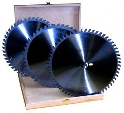 Coffret de 3 lames HM - Diam : 160 x 20 mm