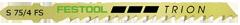 Lame scie sauteuse FESTOOL - S 75/4FS