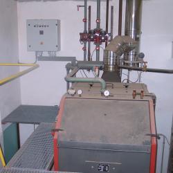 Chaudière production d' eau chaude - 130 KW