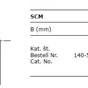 Scm 140 50 35v scm